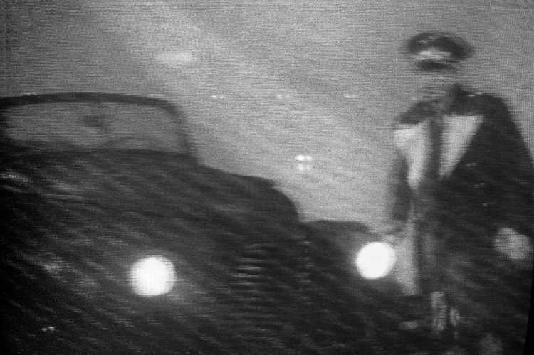 »Der Fahrer«, aus dem Portfolio »Abschied in Casablanca«, Foto © Friedhelm Denkeler 1989