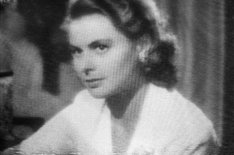 »Ingrid Bergman als Ilsa Lund«, aus dem Portfolio »Abschied in Casablanca«, Foto © Friedhelm Denkeler 1989