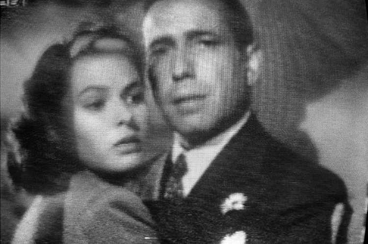 »Ilsa Lund und Richard (Rick) Blaine«, aus dem Portfolio »Abschied in Casablanca«, Foto © Friedhelm Denkeler 1989