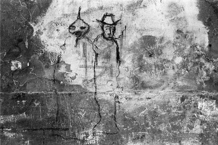 »Graffito«, Venedig, aus dem Portfolio »Harmonie eines Augenblicks«, Foto © Friedhelm Denkeler 1979
