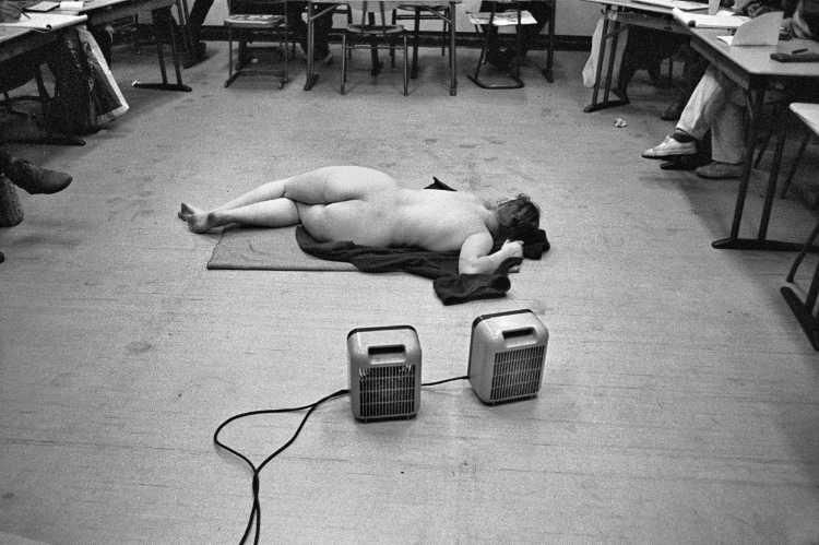 »Rückenakt«, aus dem Portfolio »Harmonie eines Augenblicks«, Foto © Friedhelm Denkeler 1982