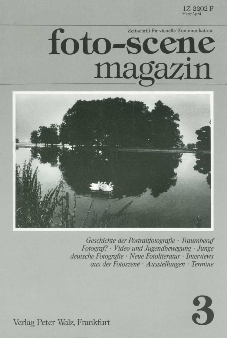 »foto-scene Magazin« Nr. 3, März/April 1983