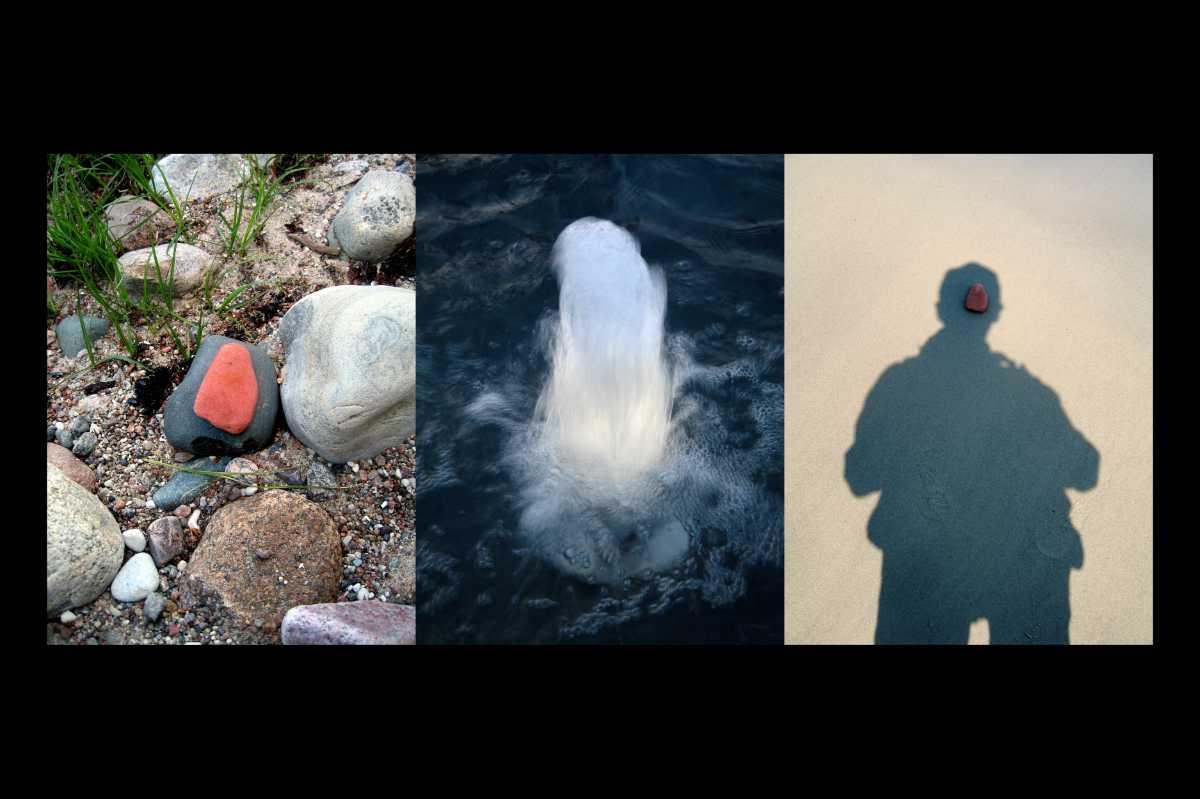 Aus dem Portfolio »Ich Binz« (sechs Triptychons), Foto © Friedhelm Denkeler 2007