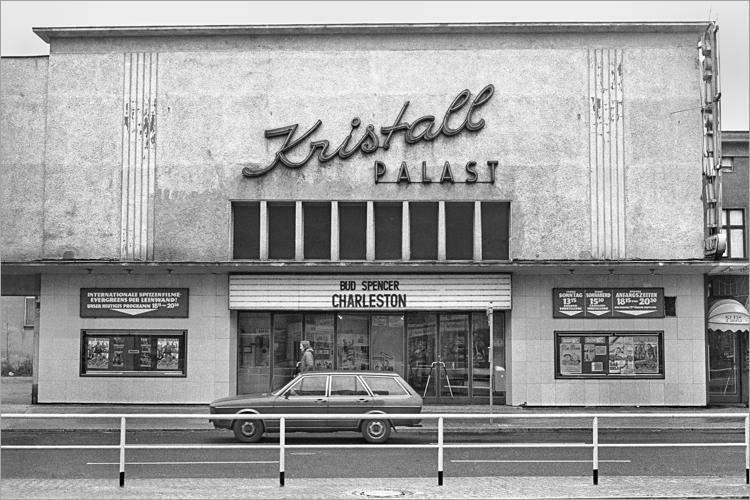 »Kristallpalast« (Prinzenallee 1, 1000 Berlin 65), aus dem Portfolio »Im Wedding«, Foto © Friedhelm Denkeler 1977