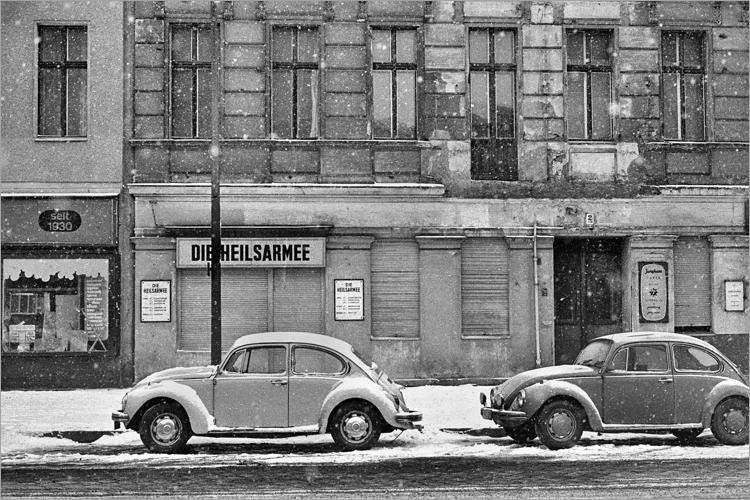 »Die Heilsarmee«, aus dem Portfolio »Im Wedding«, Foto © Friedhelm Denkeler 1978