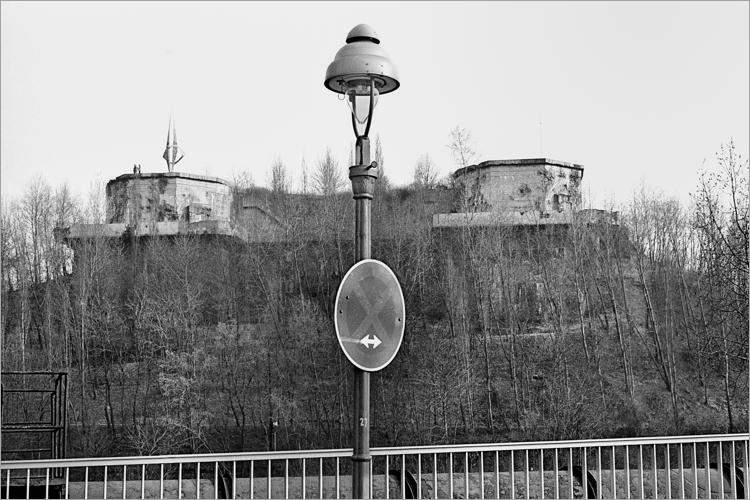 »Der Bunker im Volkspark Humboldthain«, aus dem Portfolio »Im Wedding«, Foto © Friedhelm Denkeler 1978