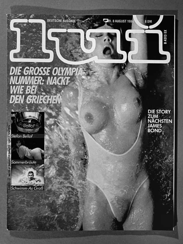 Cover der Zeitschrft »Lui«, August 1984