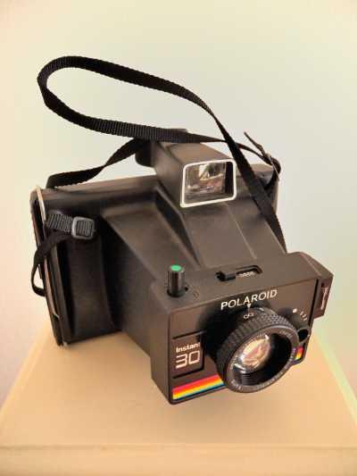 Polaroid Instant 30-KameraPolaroid SX_70 Land Camera Sonar OneStep, Foto © Friedhelm Denkeler 2012