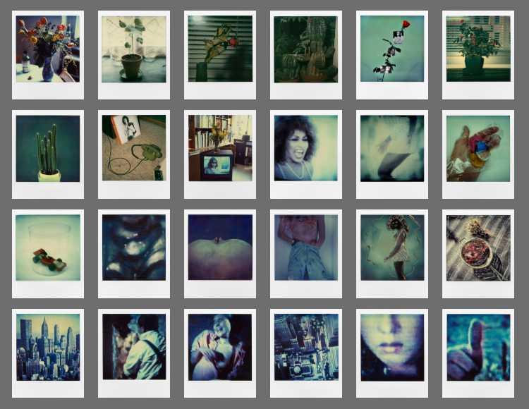 Indexprint Portfolio »Polaroid SX-70-Art«, 1980-1990