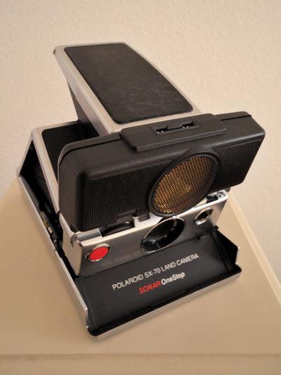 Polaroid SX_70 Land Camera Sonar OneStep, Foto © Friedhelm Denkeler 2012