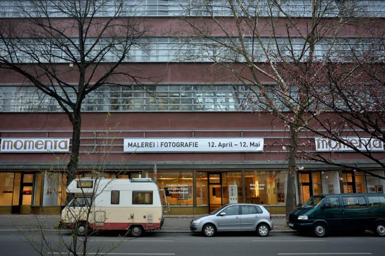 Ausstellung »momenta« im Roxy-Palast Berlin-Friedenau 2018, Foto © Friedhelm Denkeler 2018