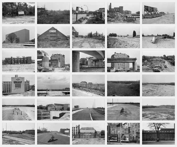 Indexprint »Tempelhofer Kreuz«, 1979
