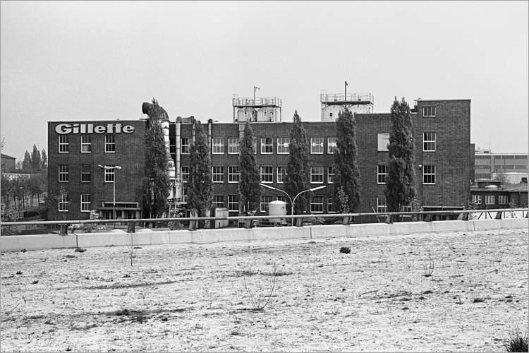 Aus dem Portfolio »Tempelhofer Kreuz – Eine Autobahn im Märkischen Sand«, Foto © Friedhelm Denkeler 1978