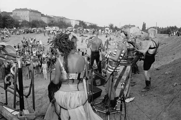 »Ein wilder Tag in Kreuzberg: 4 Der Nachmittag«, Foto © Friedhelm Denkeler 1989