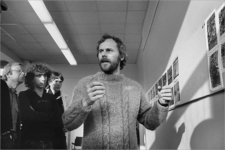 »Szenen aus der Werkstatt für Photographie«: »Workshop mit Andre Gelpke in der Werkstatt für Photographie«, 06.12.-07.12.1980, , Foto © Friedhelm Denkeler 1980