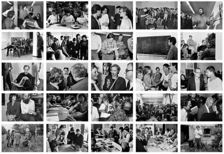 Indexprint »Szenen aus der Werkstatt für Photographie«, 1984