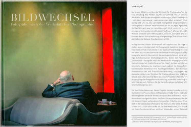 Katalog zur Ausstellung »Bildwechsel – Fotografie nach der Werkstatt für Photographie«, Kunstquartier Bethanien, 2016