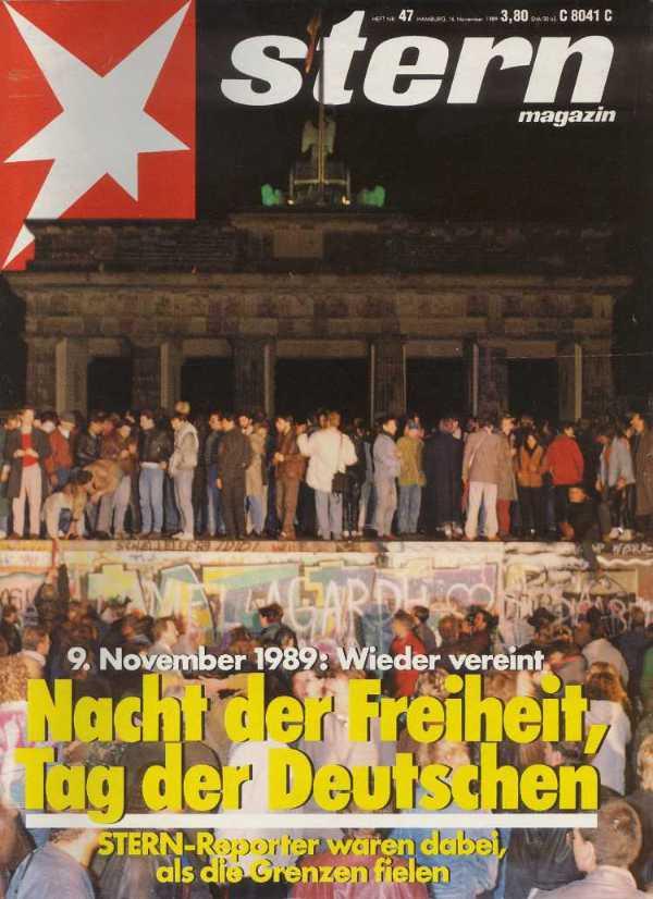 »stern«, Nr. 47 vom 16.11.1989