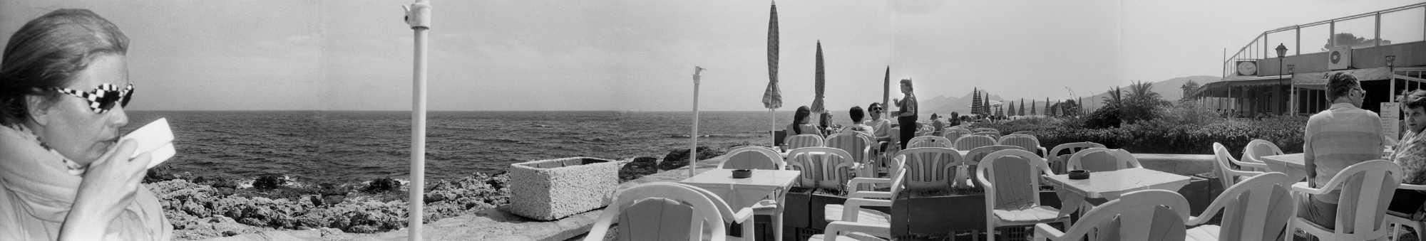 »Panorama in Cala Ratjada«, Fotos/Collage © Friedhelm Denkeler 1993