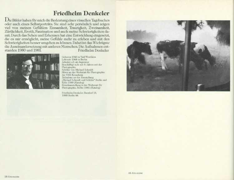 »foto-scene Magazin« Nr. 3, Verlag Peter Walz, März/April 1983