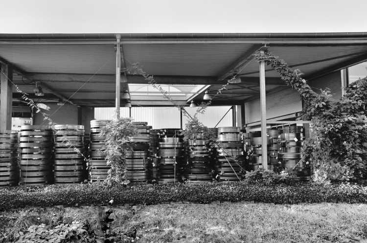 »Großer Coil-Abstellplatz«, aus dem Portfolio »Köbbinghauser Hammer«, 2014, Foto © Friedhelm Denkeler 2008