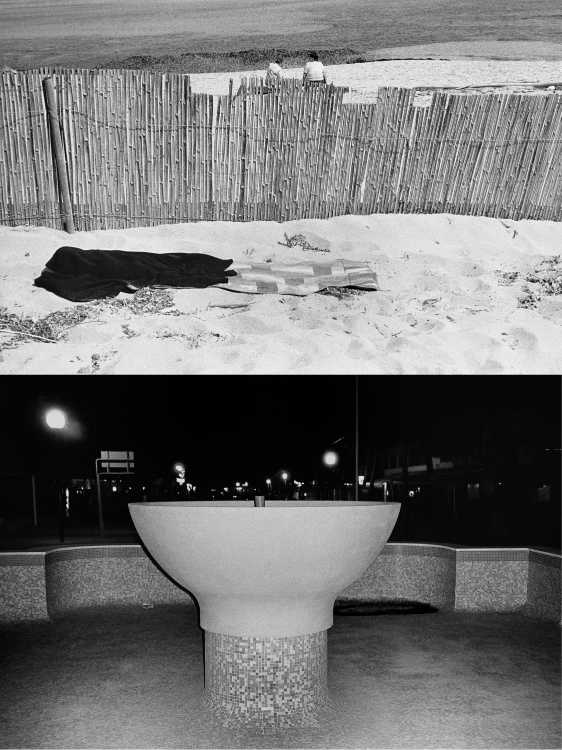Aus dem Portfolio »Eine Mallorquinische Nacht«, Foto © Friedhelm Denkeler 1993
