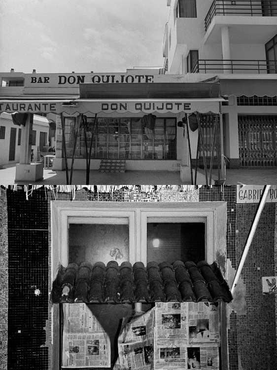 Aus dem Portfolio »Eine Mallorquinische Nacht« (Don Quijote/ Aktuelle Tageszeitung), Foto © Friedhelm Denkeler 1993