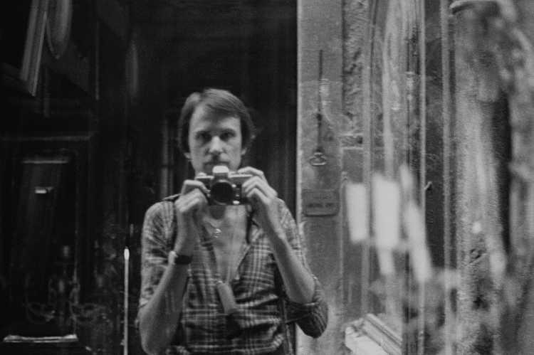»Venezia«, Italien, aus dem Portfolio »Schatten und Spiegel», Selbstbildnisse 1976 bis 2020, Foto © Friedhelm Denkeler 1979