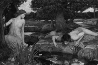 John William Waterhouse: »Echo and Narcissus«, 1903
