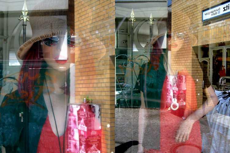 »25. Mai 2003«, aus der Serie »Second Hand Model«, Foto © Friedhelm Denkeler 2003