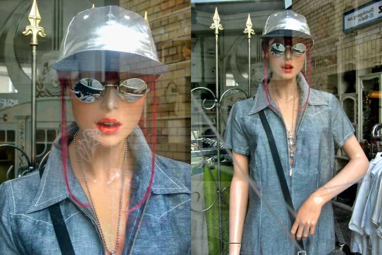 »21. Juni 2003«, aus der Serie »Second Hand Model«, Foto © Friedhelm Denkeler 2003