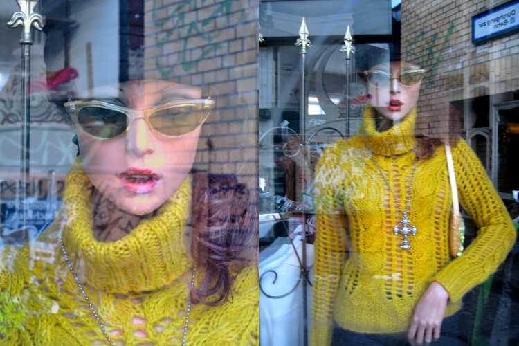 »28. Januar 2006«, aus der Serie »Second Hand Model«, Foto © Friedhelm Denkeler 2006