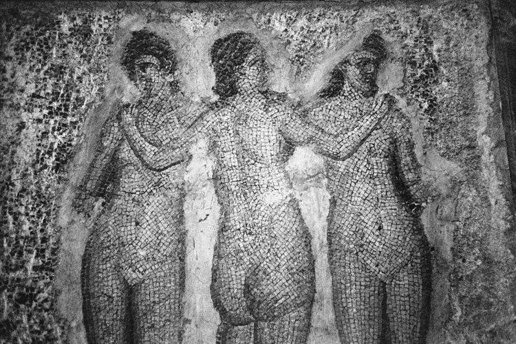 Aus dem Portfolio »Macht zuviel Sex verrückt?«, Kapitel 1: »Im Lustgarten«, Foto © Friedhelm Denkeler, 1998
