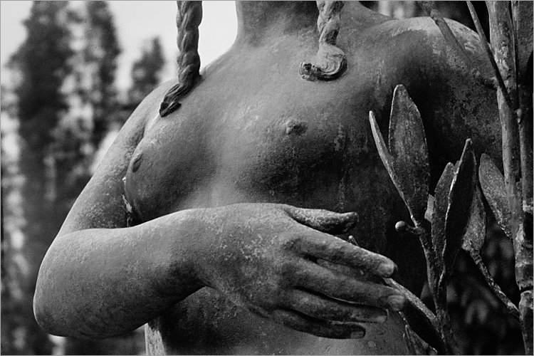 Aus dem Portfolio »Macht zuviel Sex verrückt?«, Kapitel 1: »Im Lustgarten«, Foto © Friedhelm Denkeler, 1995