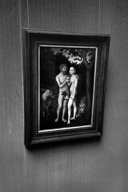 Aus dem Portfolio »Macht zuviel Sex verrückt?«, Kapitel 5: »Adam und Eva«, Foto © Friedhelm Denkeler, 2003