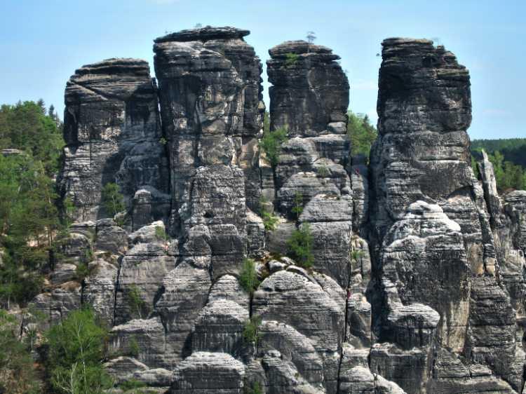 »Elbsandsteingebirge«, aus dem Portfolio »Sonntagsbilder«, Foto © Friedhelm Denkeler 2007