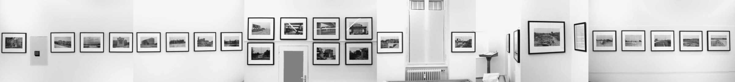 »Die Hängung des Tempelhofer Kreuzes‹ im ›Atelier André Kirchner‹ im Januar/Februar 2020«, Fotos © Friedhelm Denkeler 2020