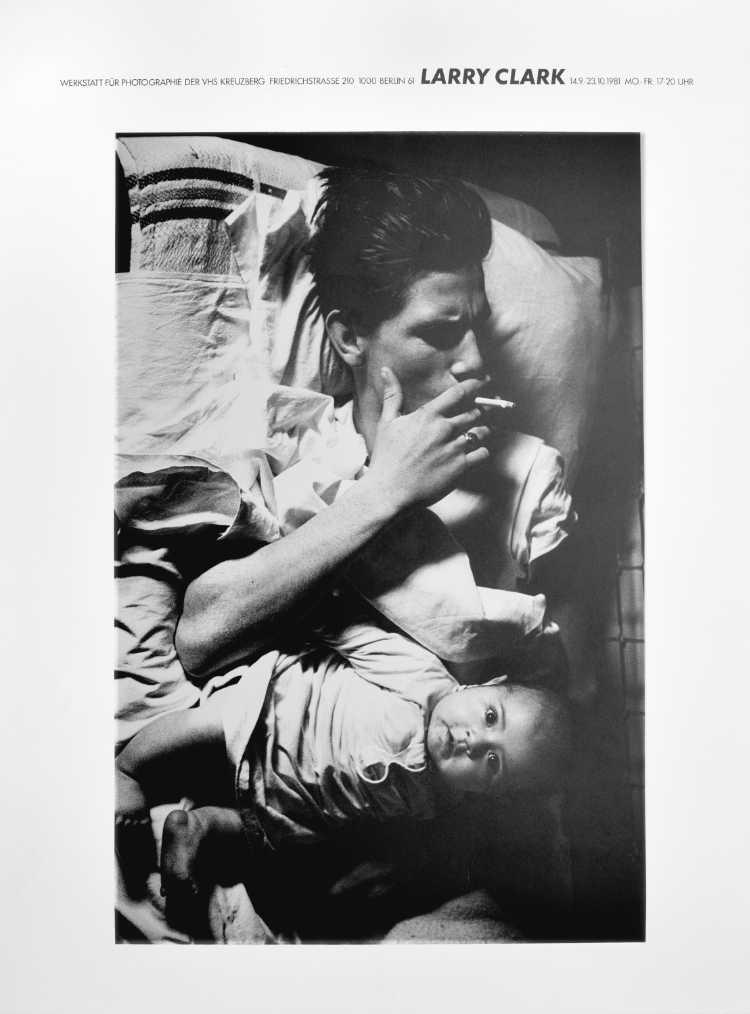 Plakat der Werkstatt für Photographie: »Larry Clark«, 1981, Foto © Friedhelm Denkeler