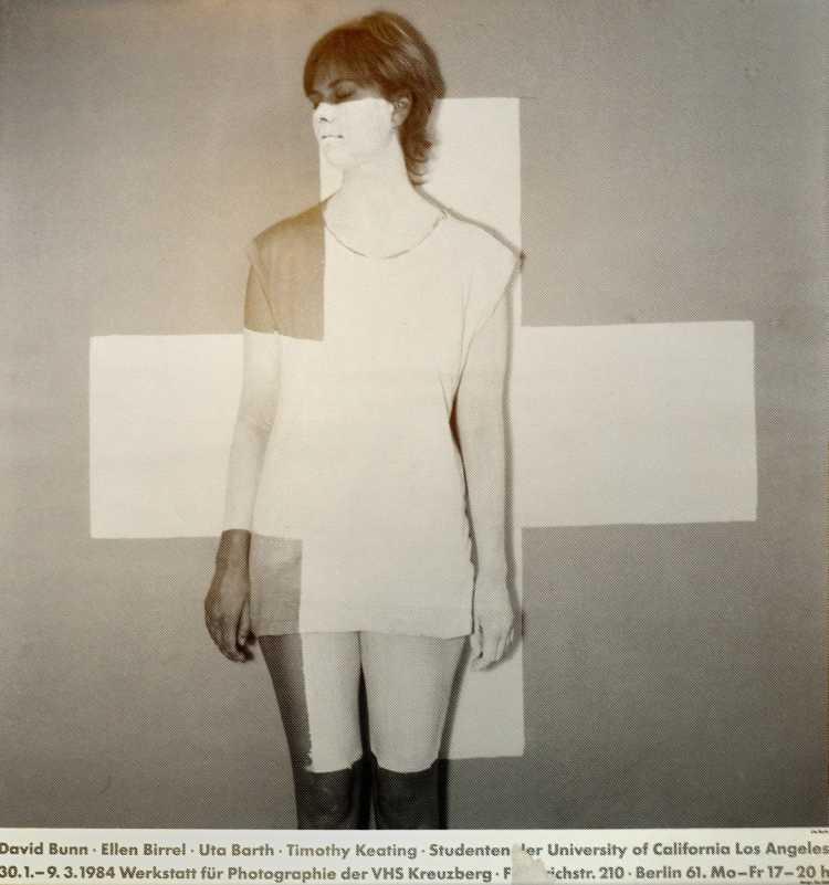 Plakat der Werkstatt für Photographie: »Studenten der University of California Los Angeles«, 1984, Foto © Friedhelm Denkeler