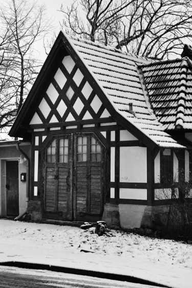 »Alte Garage in Minden, Uferstraße«, Quelle: Internet
