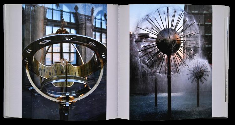 Künstlerbuch »Sonntagsbilder«, 21x21 cm, 124 Seiten, Hardcover, Selbstverlag © Friedhelm Denkeler 2009