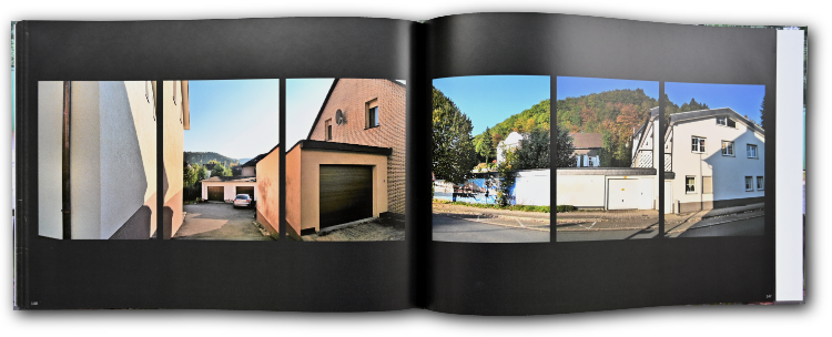 Künstlerbuch »Sauerlandgaragen – Unser Dorf soll schöner werden«, 30x201cm, 174 Seiten, Hardcover, Selbstverlag © Friedhelm Denkeler 2008