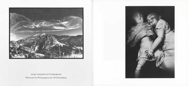 »Junge französische Photographen«, Katalog der Ausstellung in der Werkstatt für Photographie, 17. April bis 19. Mai 1978